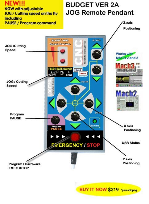Updated jog remote pendant from logitrol version 2a budget for avaliable at httplowcostcncretrofits aloadofball Image collections